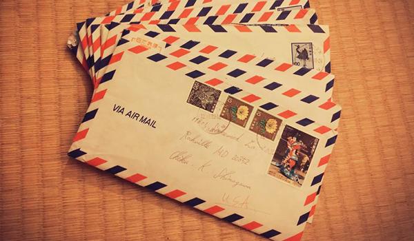 My sentimental letter
