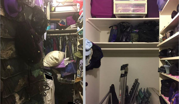 My Before and After KonMari