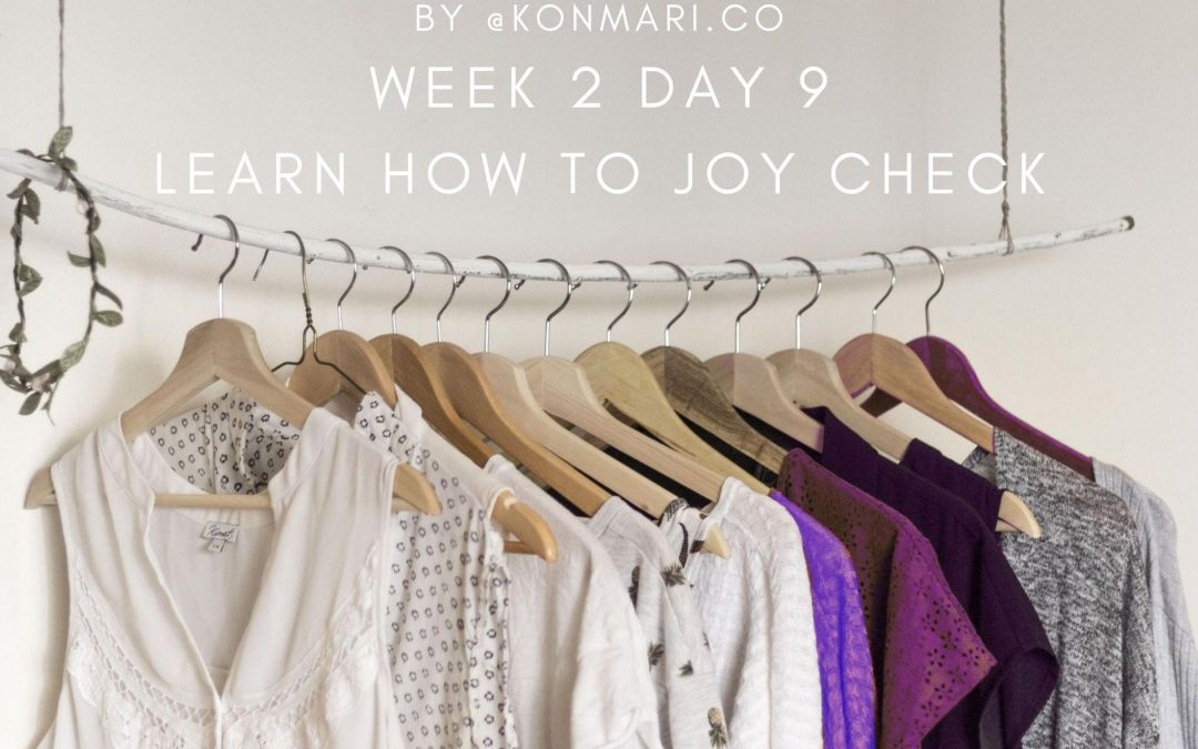 Learn How to Joy Check